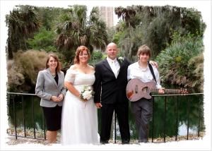 Our Simple Ceremony, Gainesville — Travel to your location.  This wedding was at Bok Tower Gardens, FL