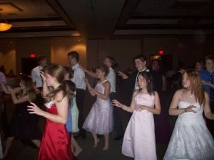 Teen Dance Package, BeDazzled Entertainment - Disc Jockeys, Dallas — Prom night for a group of home schooled kids.  THRILLER!