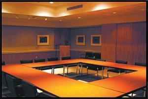 Andreé Stevens Board Room, Portland Art Museum, Portland — The Stevens Board Room is perfect for that extraordinary presentation, special company meeting, or a fun gathering place for large groups touring the Museum. Fully equipped and highly adaptable, the Stevens Board Room might be just what you're looking for.