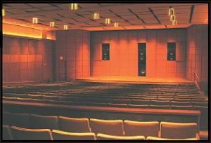 Whitsell Auditorium, Portland Art Museum, Portland — The Whitsell Auditorium, in addition to being a fully functioning 376 seat theater, is equipped for any multimedia presentation or event. The site of most lectures and speaking engagements, the Whitsell is an understated gem at the heart of the Museum.