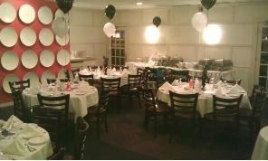1/2 or Full Day Dinner Package - Small Meetings, Rehearsal Dinners, Intimate Weddings, Baby Showers, Villari's Banquets, Bistro, Bar & Grill, Palmyra — 50th Birthday Party