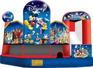Hop-A-Lot Moonwalks, Round Rock — Our Mickey Combo Unit is great for birthday parties!