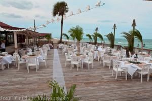Sebastian Beach Inn, Melbourne Beach — Beautiful oceanfront deck with stage for entertainment.
