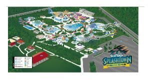 SplashTown, Spring — Over 35 acres of attractions and thrills to entertain your company.