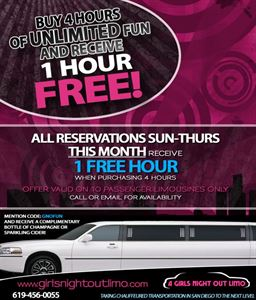 Unlimited Fun, A Girls Night Out Limo, Escondido