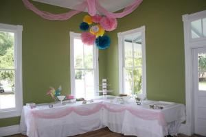 Sugar B's Bakery and Cafe, Prattville — The Magnolia Room is the front event room that opens to the front porch and will seat up to twenty people.