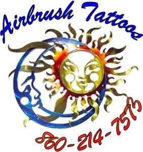 Airbrush Tattoos by Dawn, Sterling — Artistic Airbrushing by Dawn carries over 200 different tattoo designs for children and adults. 