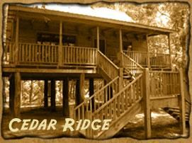 Seminary Canoe Rental, Seminary — Cedar Ridge Cabin is on the bank of the Okatoma Creek.