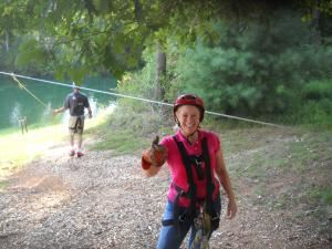 Zipline/Horseback Adventure, Soul Discovery on Horseback, Acworth — Zipline tour