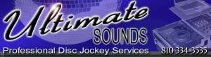 Ultimate Sounds, Port Huron — Ultimate Sounds DJS provide sound, lighting, and entertainment to private and coorperate events inlcuding weddings, birthdays, anniversaries, office parties, and school dances.