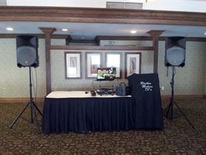 Wedding DJ Package 4 Hours, Rhythm Makers DJ's, Tampa — DJ Set-up