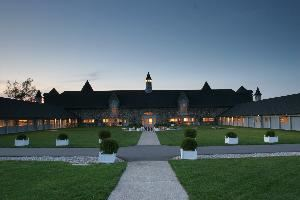 King's Grand Courtyard, Castle Farms, Charlevoix