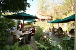 Millhouse Patio, Apple Farm Inn, San Luis Obispo