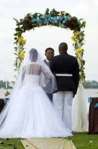 Golden Stars Marriage Memory Package, The Beautiful Cornerstone Wedding & Event Center, Beaufort