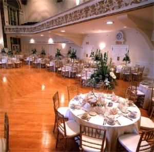 Wedding Venue Rental Package, Tuckerman Hall, Worcester