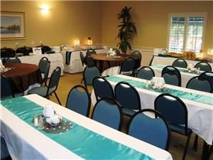 Affordable Rates for Weddings, Receptions and Bridal Showers, Inn of Naples, Naples — Banquet Style