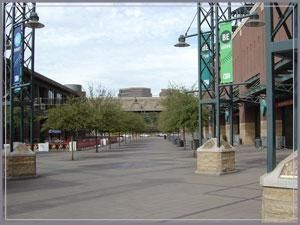 Plaza, Chase Field - Home of the Arizona Diamondbacks, Phoenix