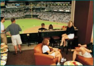 Luxury Suites - Diamond Level, Chase Field - Home of the Arizona Diamondbacks, Phoenix
