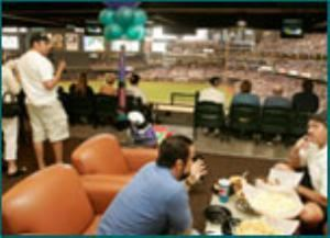 Team Suites, Chase Field - Home of the Arizona Diamondbacks, Phoenix