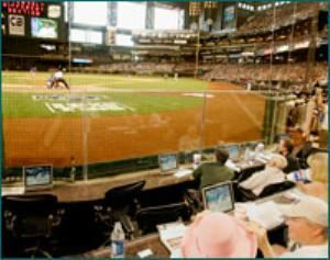 Batter's Box, Chase Field - Home of the Arizona Diamondbacks, Phoenix