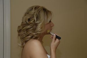 Premier Wedding Package, Berry's Wedding Photography, Pensacola — Bride Getting Dressed
