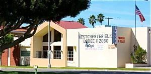 Westchester Elks Lodge, Playa del Rey — Front of the building