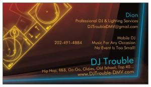 DJ Trouble, District Heights
