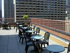 Rooftop Terrace, Inn Of Chicago, Chicago