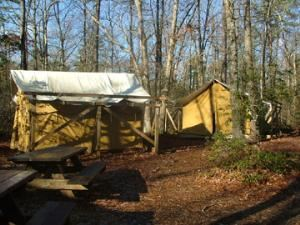 Whippoorwill Theater Tent Site 1-4, Girl Scouts Of The Jersey Shore, Toms River — Whippoorwill Theater Tent Site
