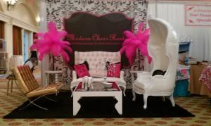 Modern Chair Rental, La Habra — Bridal Show booth at HB Hyatt