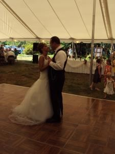 5 Hour Wedding DJ Package, A Divine Time Wedding & DJ Service, Akron — Tudor House in Akron wedding reception 2012.