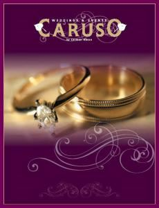 Caruso Weddings & Events