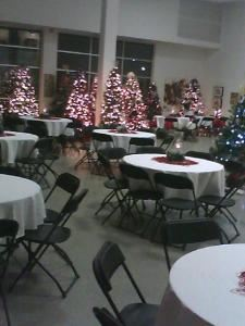 Catering On Wheels, Desoto — TDCJ Parole Division Christmas Party 2011 Arlington Arts Center