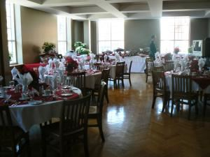 Private Dining Room, Queen's University Event Services, Kingston