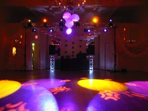Reception With Dance Lights, AJ Productions - DJ Birmingham, Birmingham