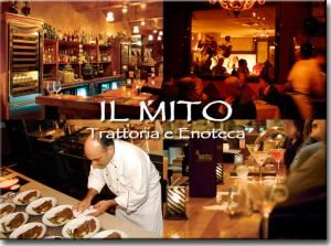 IL MITO Trattoria e Enoteca, Milwaukee — IL MITO Trattoria e Enoteca is an award-winning Italian restaurant and wine bar located on the East side of Wauwatosa, Wis. The restaurant opened in 2006 and has become one of the region's most popular Italian eateries. The restaurant's owner and chef, Michael Feker, established IL MITO as a destination for simple yet robust Italian that's affordable. The menu features everything from homemade pastas and salads to signature soups, breads, cheeses and pizza, including homemade, gluten-free options.