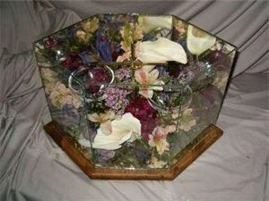 Diamond Case , Memories Preserved - Custom Freeze-Dried Florals, Appleton
