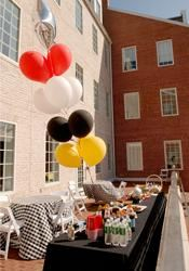 Tailgate Terrace , Samuel Riggs IV Alumni Center, College Park