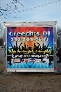 Creech's DJ Service, Kenly — Complete DJ Service with over 5000 songs on our computer system and wireless downloads at the event as well
