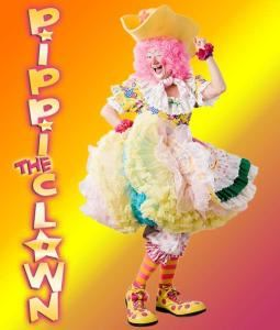 Parties for Kids of All Ages, Pippi the Clown, Powell — Pippi