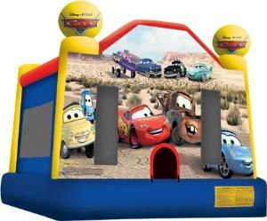 RentaMeUSA, Charlotte — 15x15 Inflatable Bounce house. Lighting Cars McQueen