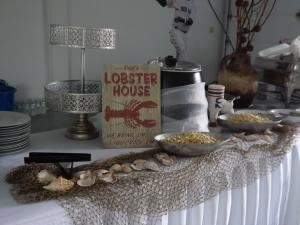 Dinner and Company,  Gourmet Caterers, Milford, MA, Milford — Our buffet table