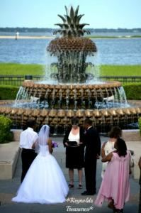 Sunflower Ceremony , Reynolds Treasures, Hanahan — pineapple fountain