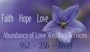 Abundance Of Love Wedding Officiant  Minnesota, Minneapolis