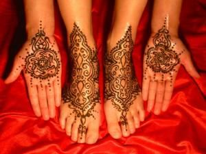 Mehndi & More Body Art, Vancouver — Henna - Traditional Designs