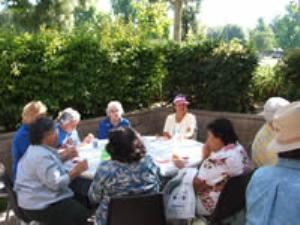 Outdoor Patio, Joslyn Senior Center, Redlands