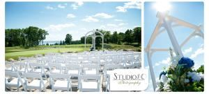 Patio, Apostle Highlands Weddings, Bayfield — (Photo courtesy of Studio10 Photography)