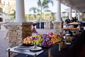Princess Diamond Buffet Wedding Package, Mainsail Conference & Events Center Tampa, Tampa — Outdoor functions are truly memeorable on our Grand Patio- which features covered section with fans.