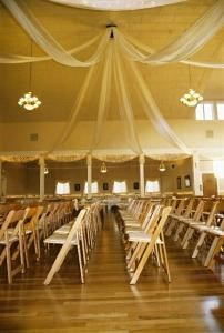 Full Day Ballroom Rental, The Majestic, Bellingham — Ceremony Seating For your wedding