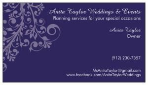 Anita Taylor Wedding & Events, Brunswick